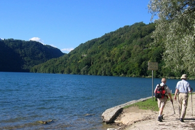A walk to Levico Lake